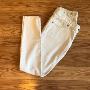 Ivory jeans